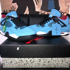 Nike AirJordan Retro 4s Cactus Jack Size 12✅‼️